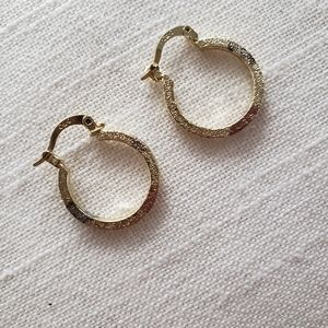 Multi tone Mini Hoops